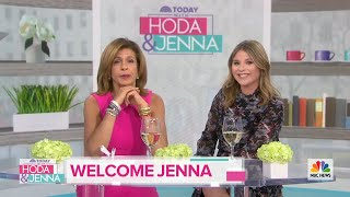 Jenna Bush Hager Makes Her Debut As TODAY's 4th Hour Co-Host! | TODAY