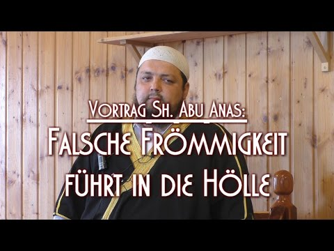 FALSCHE FRÖMMIGKEIT FÜHRT IN DIE HÖLLE