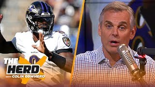 Colin Cowherd plays the 3-Word Game after NFL Week 2 | THE HERD