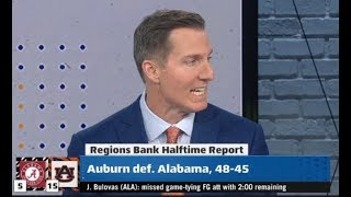 Bo Nix, Auburn Hang on to Upset Alabama in Dramatic 2019 Iron Bowl