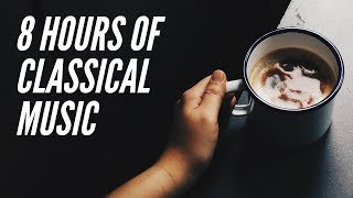 8 Hours Classical Music Mix 🎵Mozart, Bach, Beethoven, Chopin, Grieg   Relax Baby 🎼DEEP SLEEP🎻