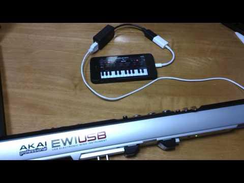 EWI USB + iPhone or iPad + SampleTank (Alt Sax)で未来予想図II