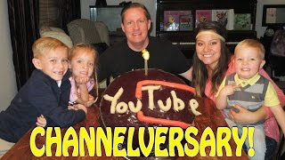 DYCHES FAM 1 YEAR CHANNELVERSARY!