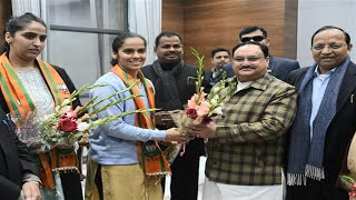 Saina Nehwal Speaks After Joining Into BJP..