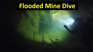 Mine Diving: Uncharted territory within an abandoned Cornish  mine shaft. The first dive.