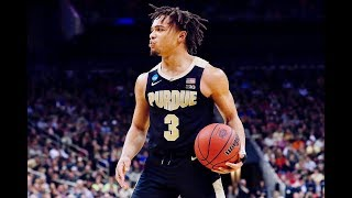 Carsen Edwards Hits 10 3-Pointers vs. Virginia, Finishes With 42 PTS In OT Thriller