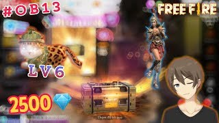 [Free Fire] Bỏ 2500💎 Quay VQMM & Trải Nghiệm OB13 Với Pet Mèo LV6 | GilGamingTV