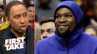 'Hell yeah' the Warriors should still be confident after Game 3 loss – Stephen A. | First Take