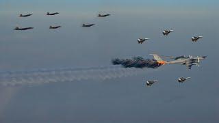 Tension erupt (Feb 28, 2021): US F-22s intercept Russian fighters, bombers near Alaska