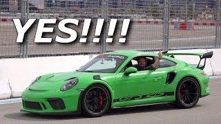 Leo RIPS Porsche GT3RS, Ferrari 488, and NSX at Exotics Racing!