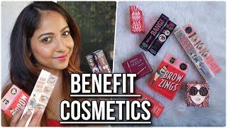 BENEFIT COSMETICS HAUL & REVIEW | Get ₹350 Cashback with Cashkaro on Sephora NNNOW | Stacey Castanha