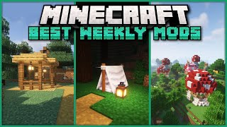 Top 25 New Mods for Minecraft 1.17.1 on Forge & Fabric - Structures, Bounties & Camping!