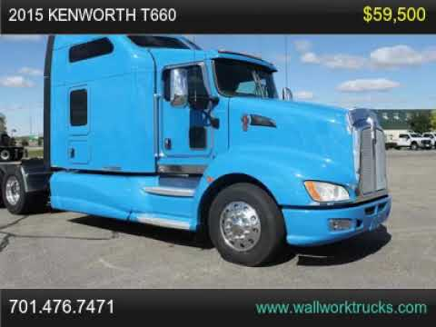 2015 Kenworth T660 For Sale, Fargo, North Dakota