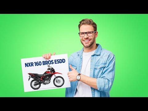 Seu plano é conseguir uma NXR 160 BROS ESDD