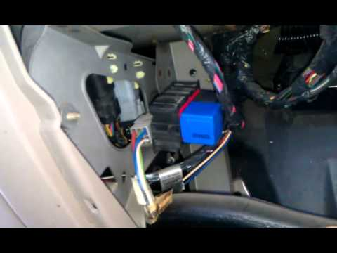 fuse box for 96 econoline 350 how to change a signal or flasher relay on a 2000 ford  how to change a signal or flasher relay on a 2000 ford