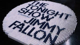 Dominoes on the TONIGHT SHOW STARRING JIMMY FALLON!