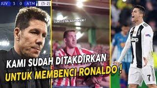 Wajar Jika Ronaldo Selalu Di Benci‼️Hinaan Fans Atletico Madrid Berubah Menjadi Tangisan