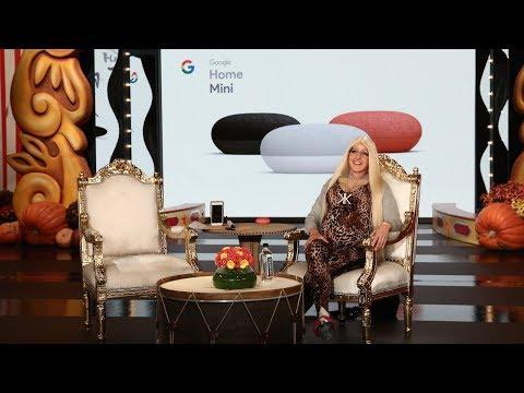 Google Home Haunts Ellen's Studio