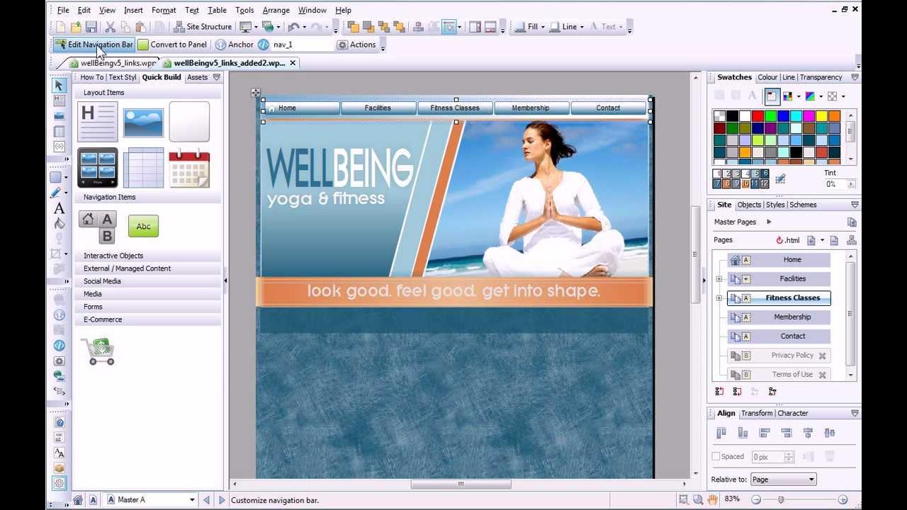 Serif WebPlus X6 Tutorial - Hyperlinks & Anchors