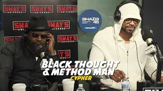 Method Man & Black Thought Cypher on Sway in The Morning