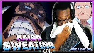 KAIDO NEEDS A TOWEL! ONIGASHIMA BATTLE BEGINS! | One Piece Manga Chapter 986 LIVE REACTION - ワンピース
