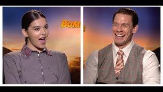 BUMBLEBEE Interviews: Hailee Steinfeld and John Cena