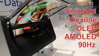 Visionox Flexible OLED with 7H hardness at Display Week 2019