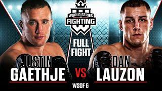 Full Fight | Justin Gaethje vs Dan Lauzon | WSOF 6, 2013