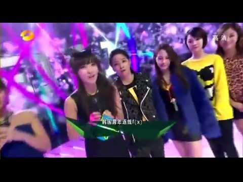121231 f(x) Interview With Hunan TV New Year's Eve Party night