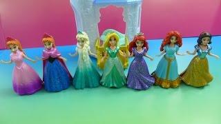 Công Chúa Bạch Tuyết Và 6 Công Chúa Disney Rapunzel, Ariel, Elsa, Anna Magic Clips