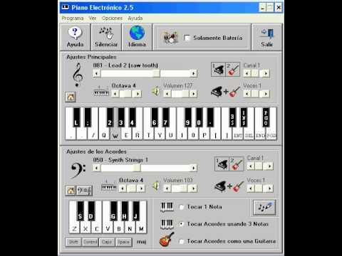 Hoy me decis - tito y la liga (PIANO ELECTRONICO 2.5)