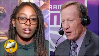 The Jump reacts to Kings announcer Grant Napear resigning after response to DeMarcus Cousins
