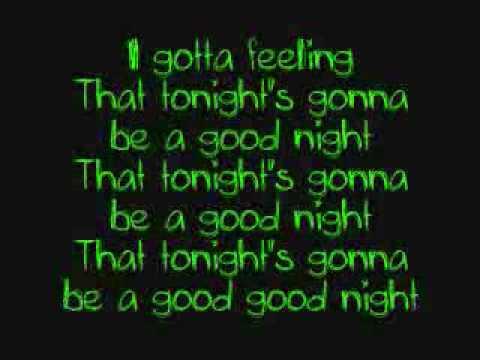I Got a Feeling - Black Eyed Peas (Official HQ) - YouTube