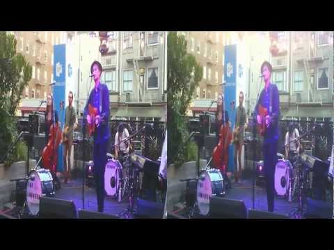The Lumineers Live @SFNewTech Mystery Guest Event (YT3D:Enabled=true)