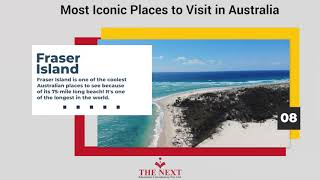 Most Iconic Places to Visit in Australia