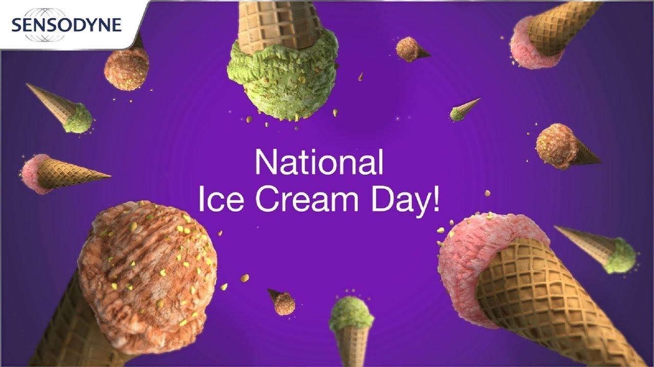 Sensitive Teeth on National Ice Cream Day | Sensodyne Rapid Relief