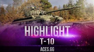 Имя новое - школа старая! танк Т-10