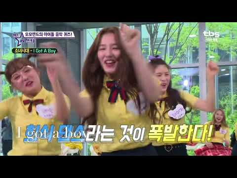 Kpop idol dance to SNSD songs