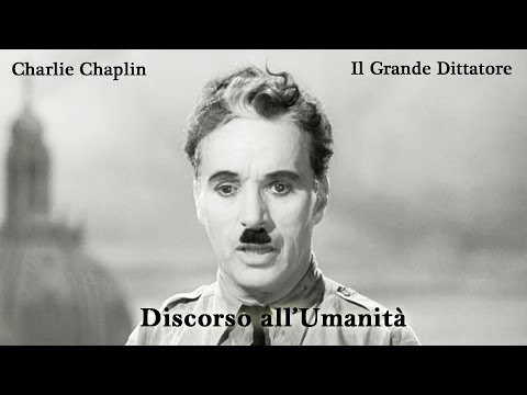 Il Grande Dittatore - Discorso all'Umanità | HQ