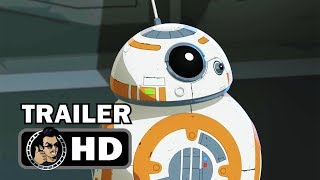 STAR WARS RESISTANCE Official Trailer (HD) Disney Animated Series