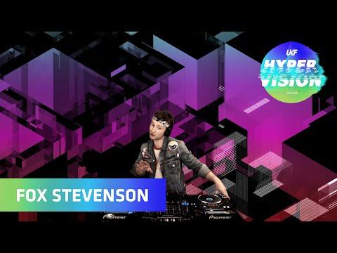 Fox Stevenson DJ Set - visuals by Rebel Overlay