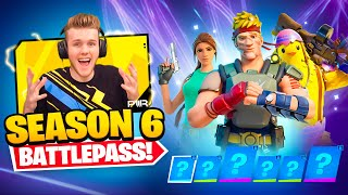 *NEW* SEASON 6 BATTLEPASS In Fortnite (Lara Croft + More)