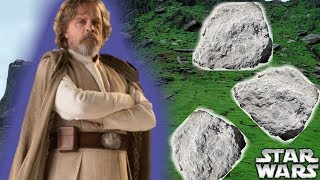 Why Luke Skywalker's INSANE Force Display Was CUT From The Force Awakens - Star Wars Explained