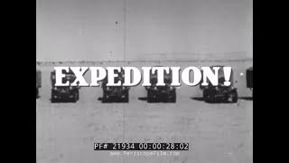 EXPEDITION! TV SHOW   SUBMARINE USS SEADRAGON 1960 NORTHWEST PASSAGE CRUISE 21934