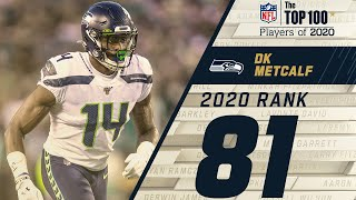 #81: DK Metcalf (WR, Seahawks) | Top 100 NFL Players of 2020