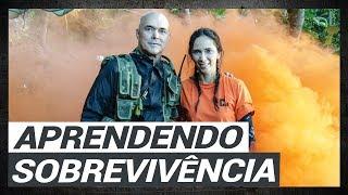 CURSO DE SOBREVIVÊNCIA | CORONEL LEITE | ILHA SECRETA PARTE 1-2