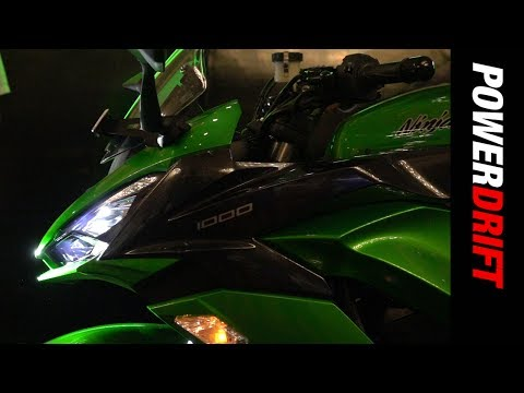 Kawasaki Ninja 1000 (2017) : Launch Alert : PowerDrift