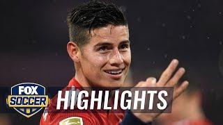 James Rodriguez gets his first hat trick for Bayern Munich | 2019 Bundesliga Highlights