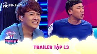Biệt tài tí hon   trailer tập 13: Trấn Thành khiến Ngô Kiến Huy choáng váng khi hát Lạc trôi