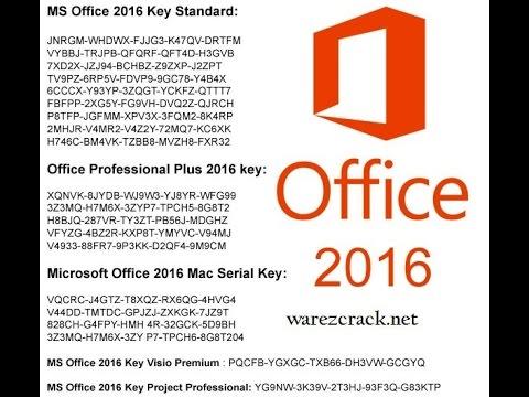 microsoft office word 2016 plus product key